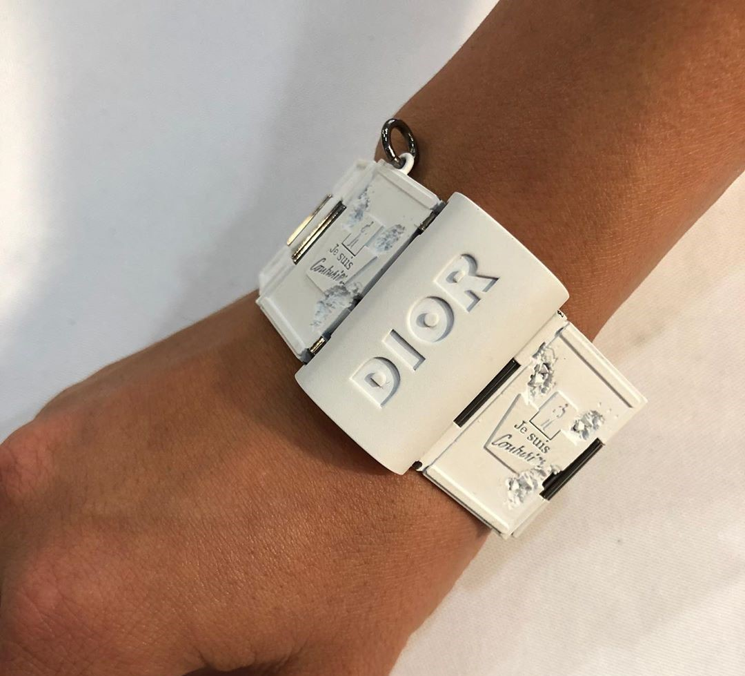 Daniel Arsham Shows a Sample from His Dior Collaboration