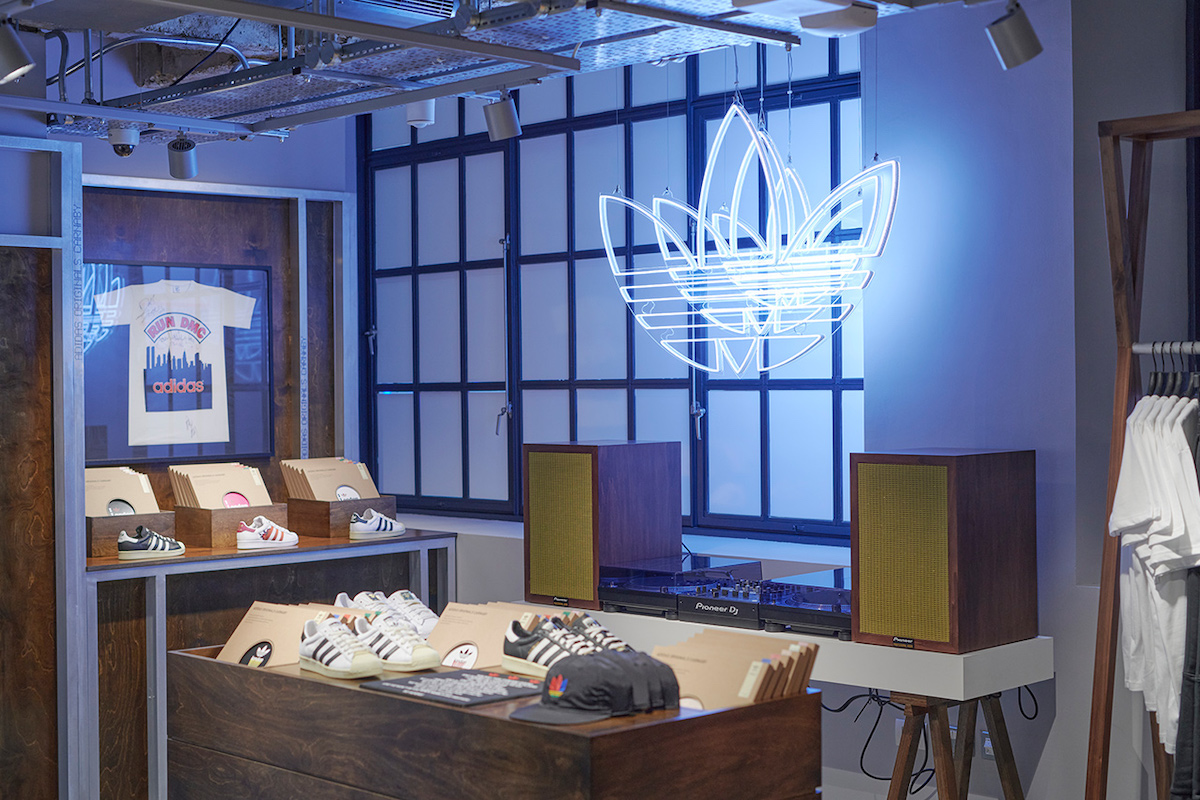 adidas Originals' New London Flagship Store Opens Today