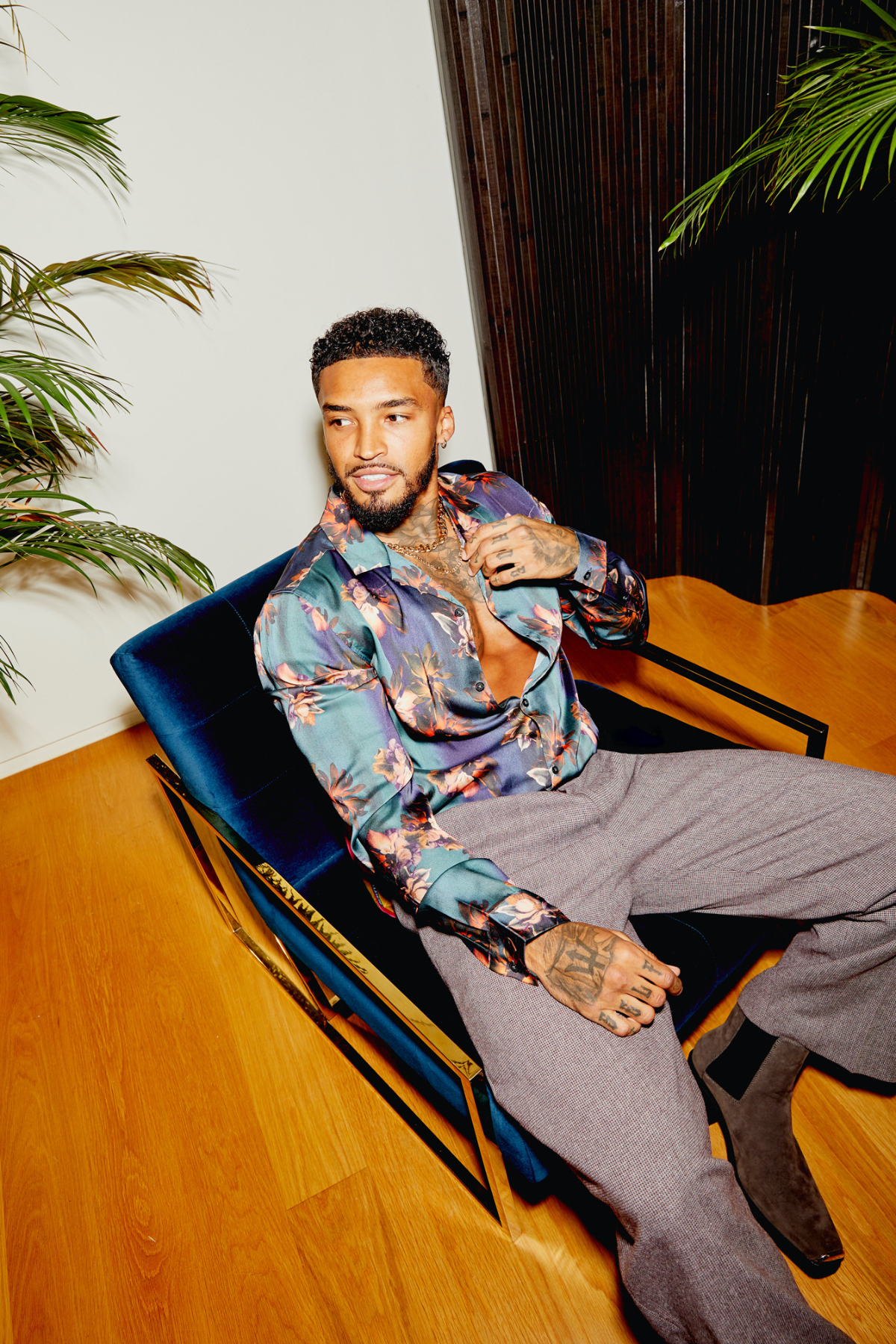 Michael Griffiths is the face of ASOS's Latest Edit