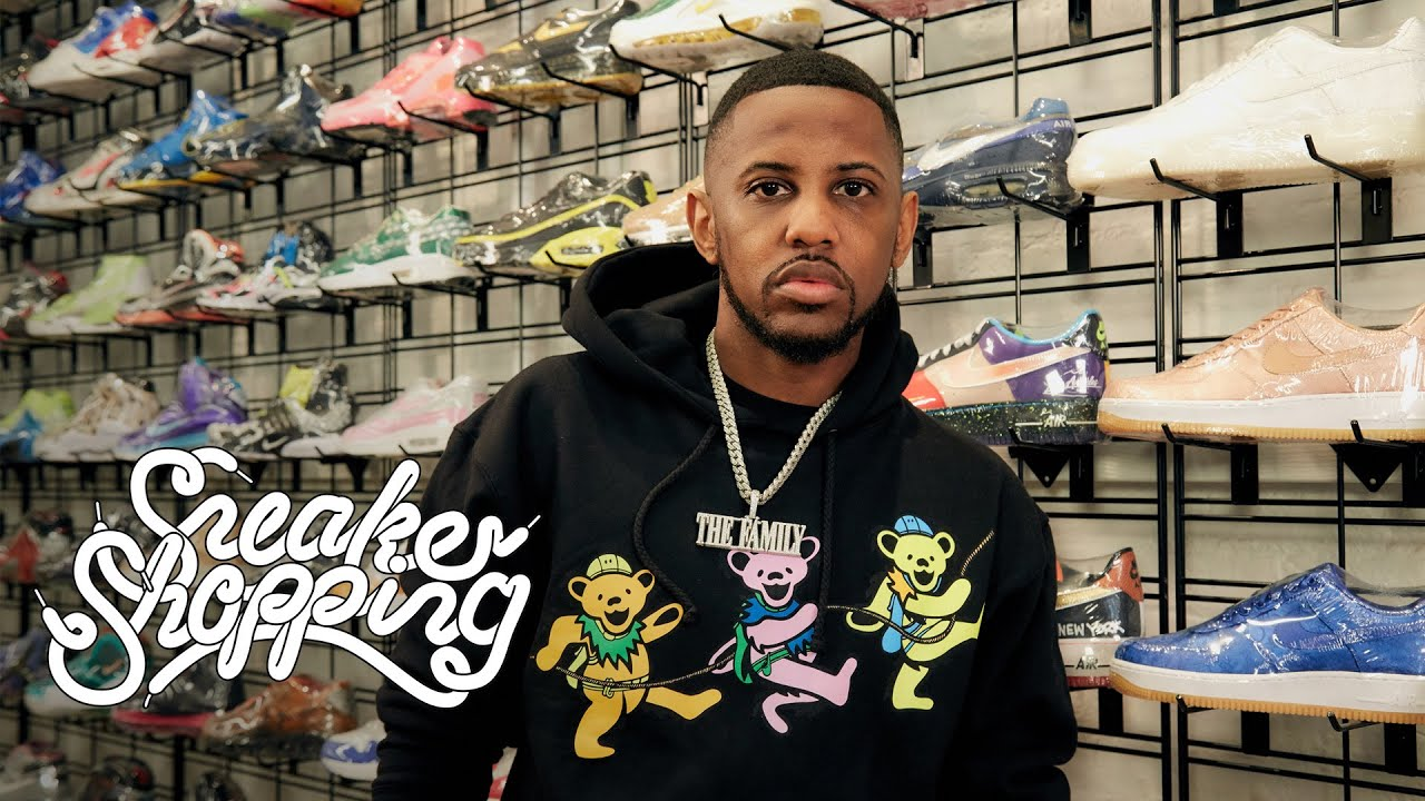Fabolous Returns to Sneaker Shopping with Complex