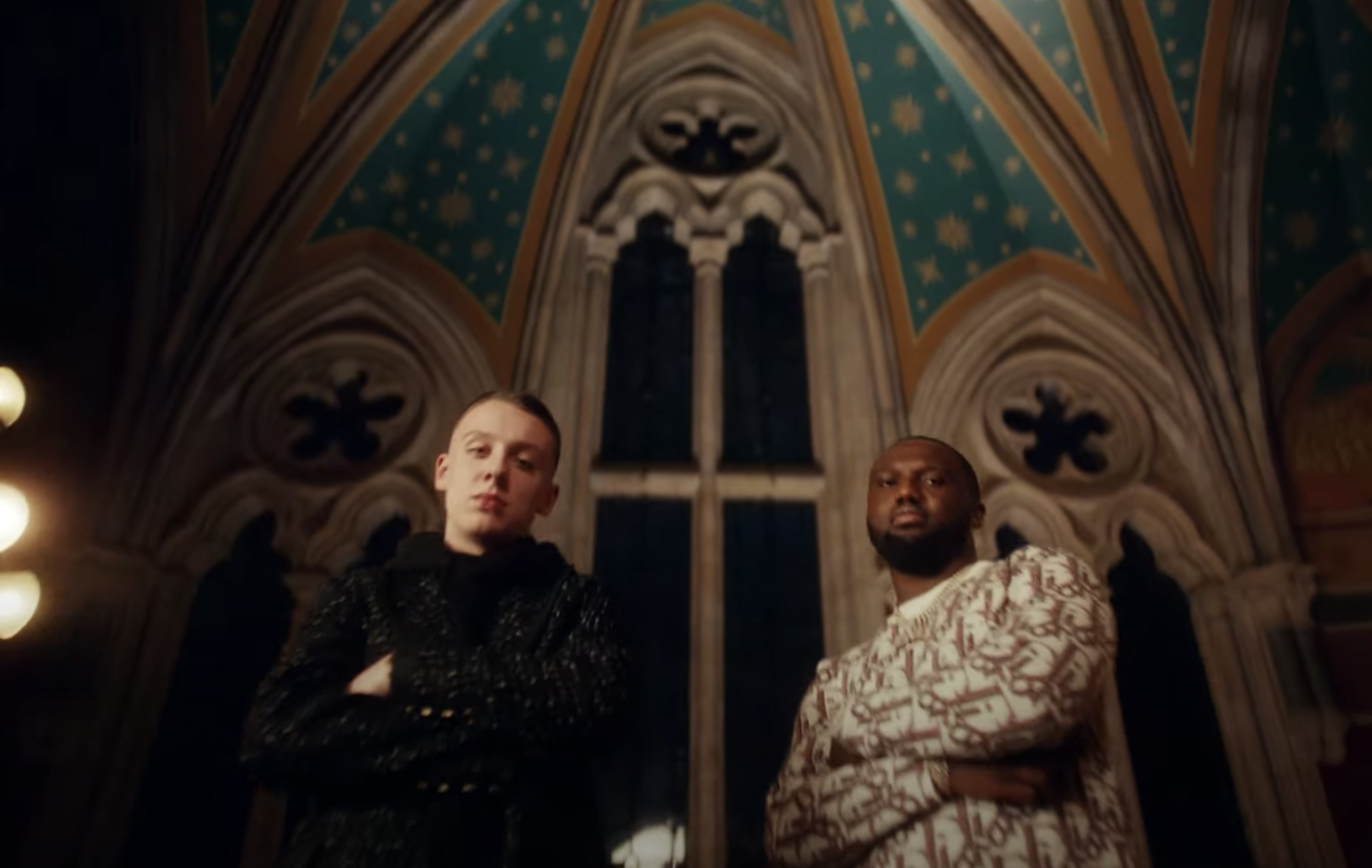 SPOTTED: Aitch and Headie One in 'Parlez-Vous Anglais' Music Video