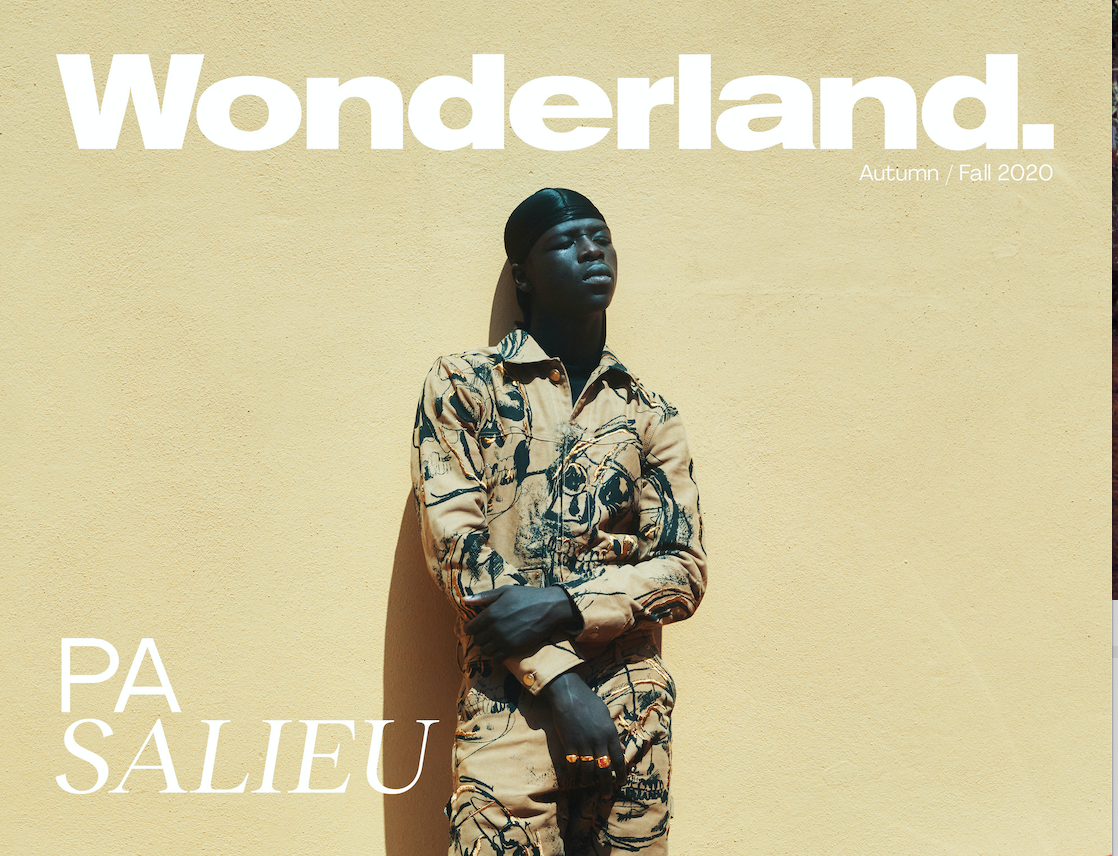 SPOTTED: PA Salieu Is Wonderland's Latest Cover Star