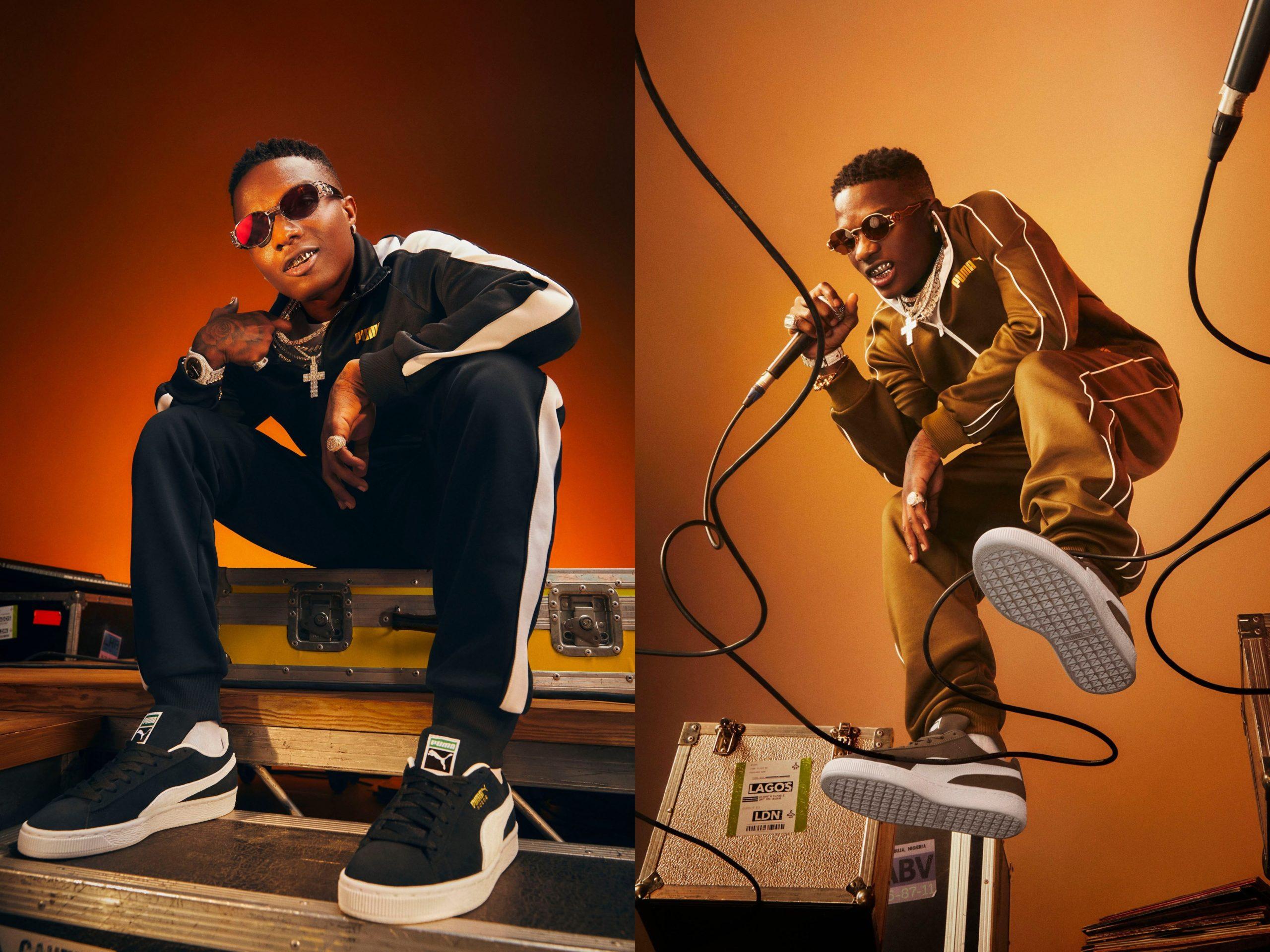 PUMA Announces Wizkid as the Ambassador for PUMA x JD Sports Suede Campaign