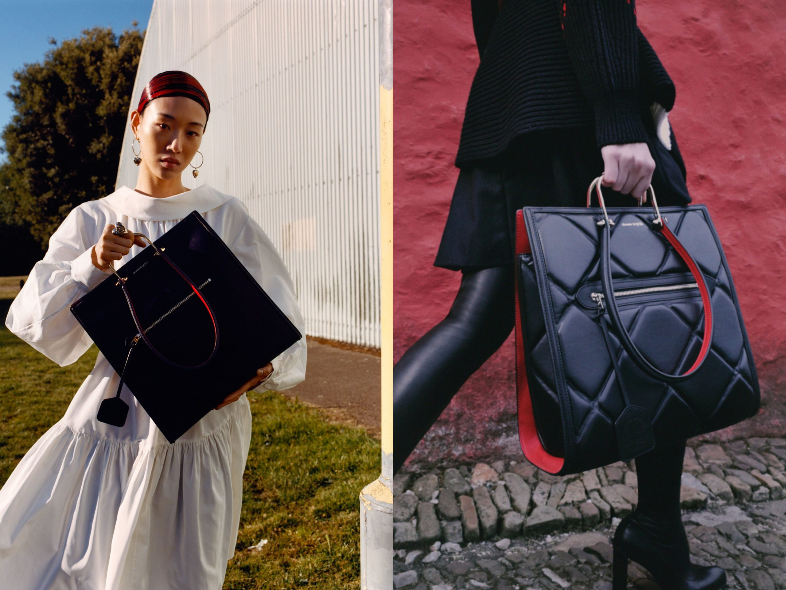 """Alexander McQueen Develops """"The Tall Story"""" For AW20"""
