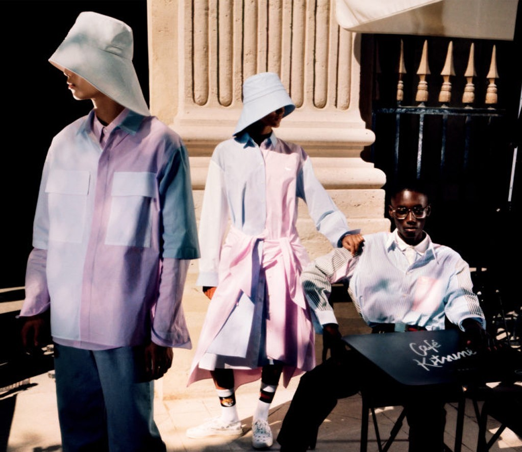 Maison Kitsune is Re-Imagined by Guest Designer Marcus Clayton for S/S'21