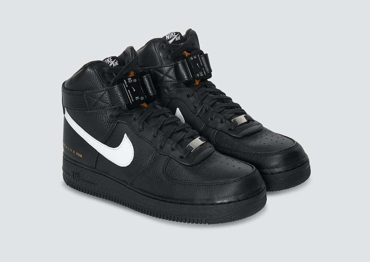The 1017 ALYX 9SM x Nike Air Force 1 High Drops This Saturday