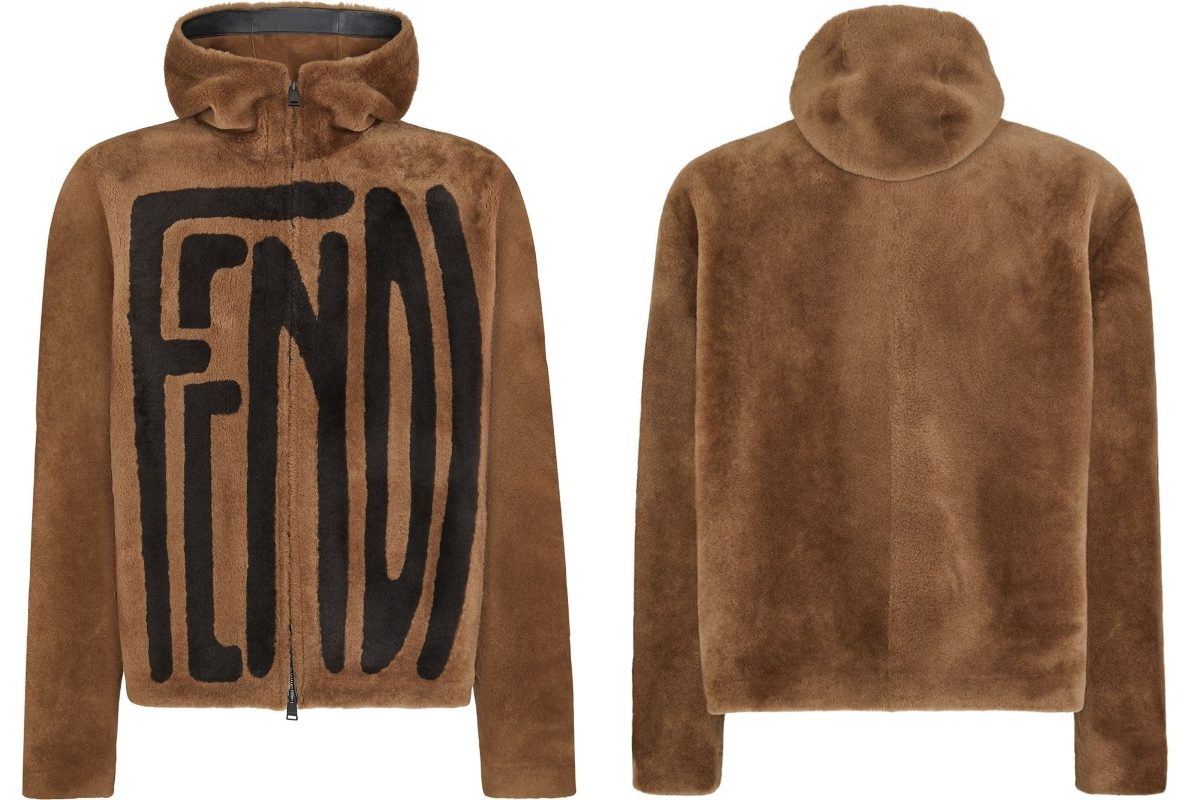 PAUSE or Skip: Fendi Hooded Logo Jacket