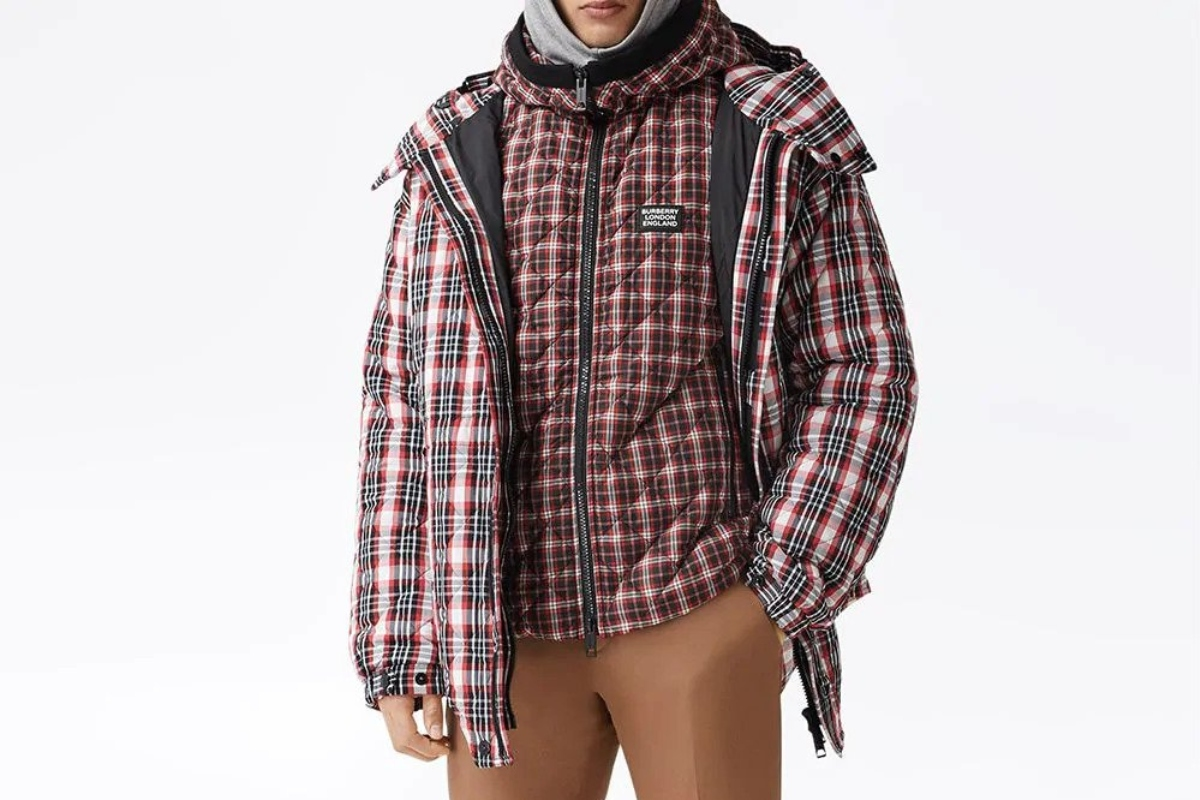 PAUSE or Skip: Burberry Quilted Check-Print Jacket