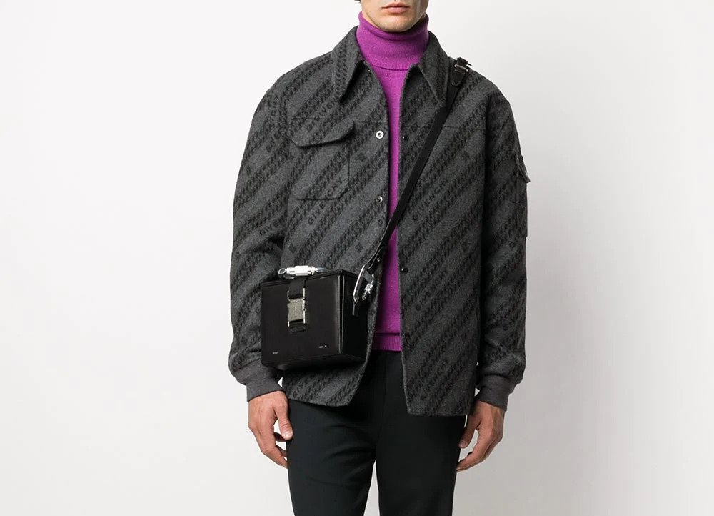 PAUSE or Skip: Givenchy Jacquard Chaîne Motif Shirt-Jacket