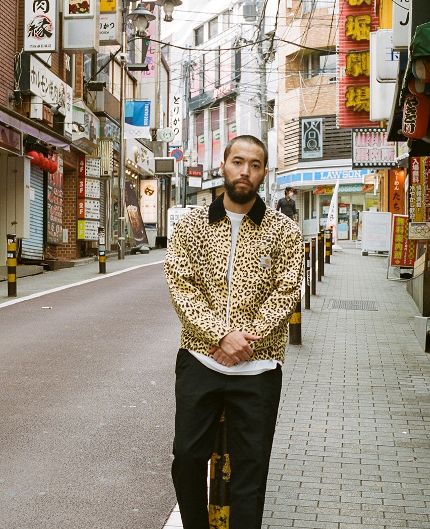 Carhartt WIP and WACKO MARIA Link-Up for Leopard-Print Inspired Capsule