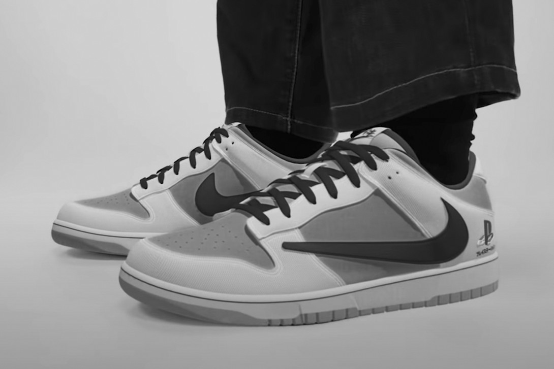 Travis Scott Announces PlayStation Partnership with Nike Dunk Unveiling