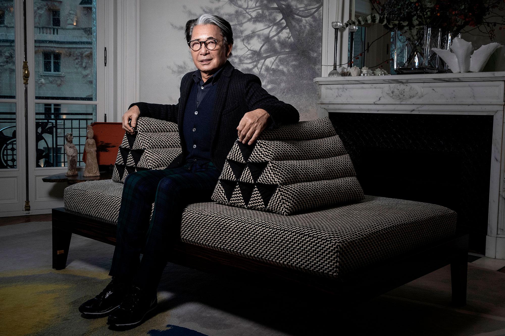 Designer Kenzo Takada Has Died Aged 81