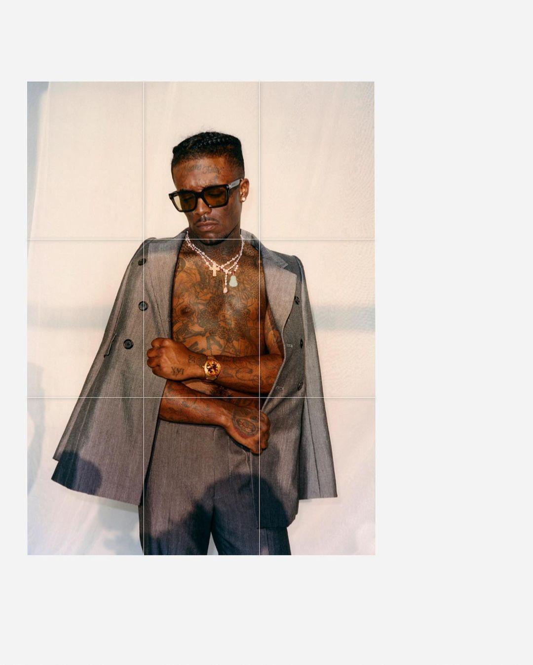 SPOTTED: Lil Uzi Vert Rocks Marc Jacobs