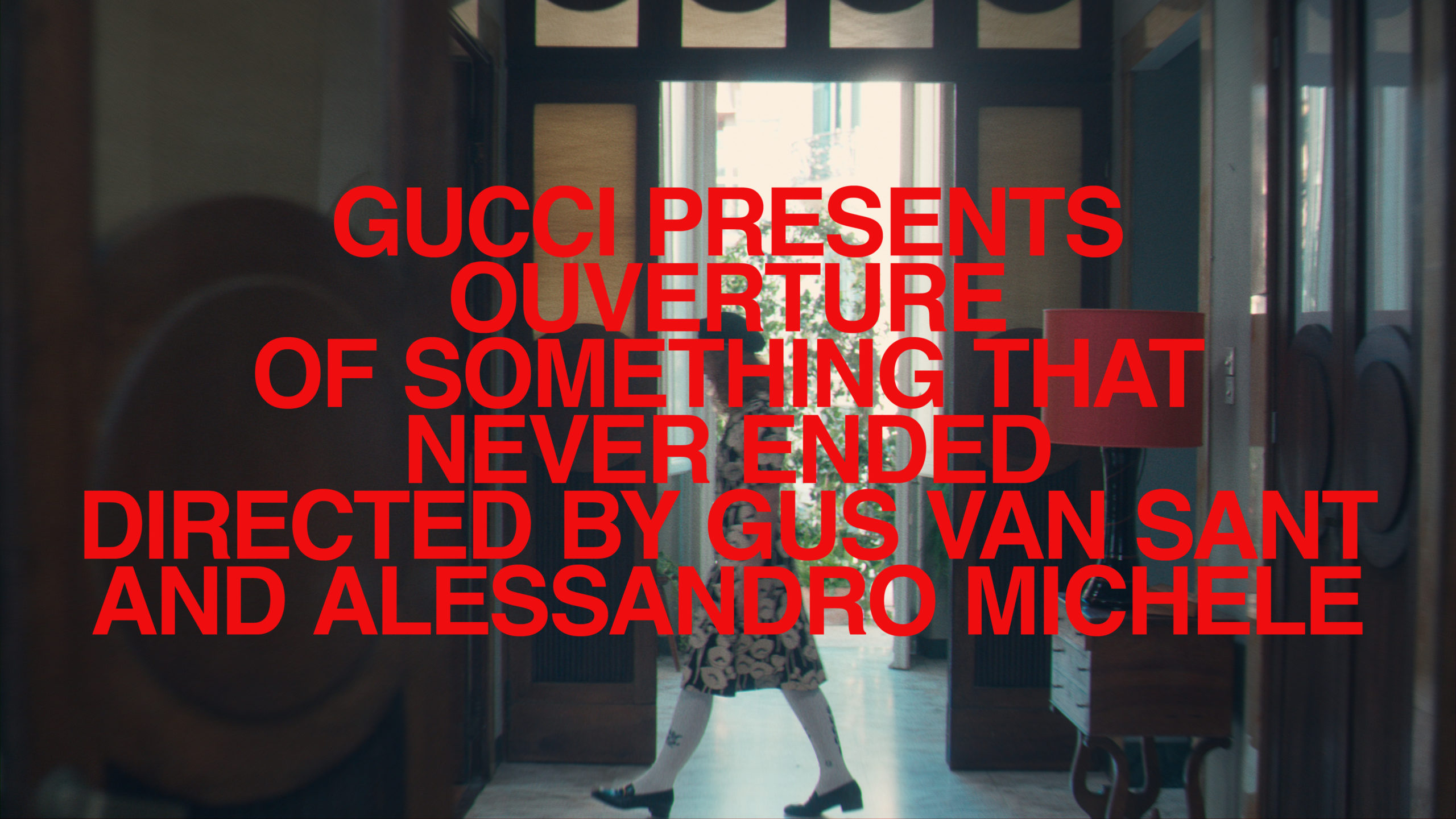Gucci Presents New Collection in 7 Episode Mini Series