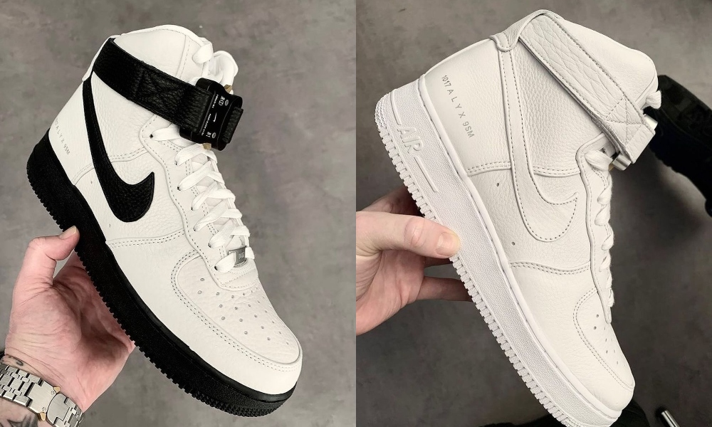 The 1017 ALYX 9SM Air Force 1 High-Top Trainers Drop Tomorrow