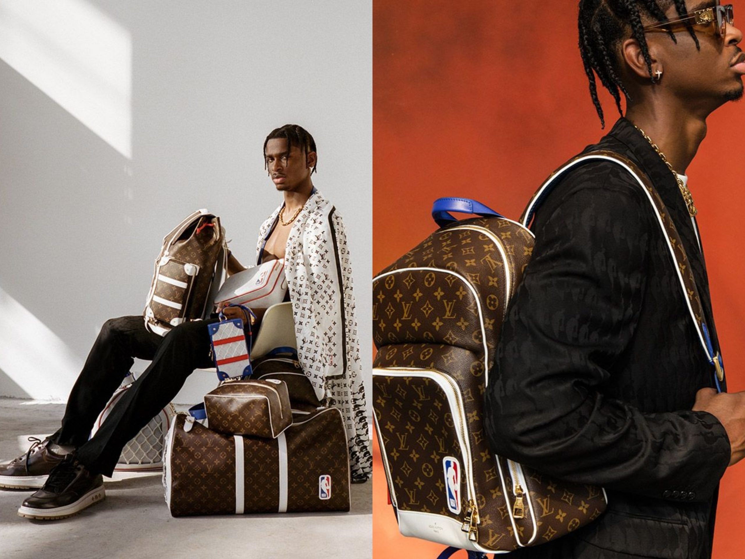 Shai Gilgeous-Alexander Models First Louis Vuitton x NBA Collection