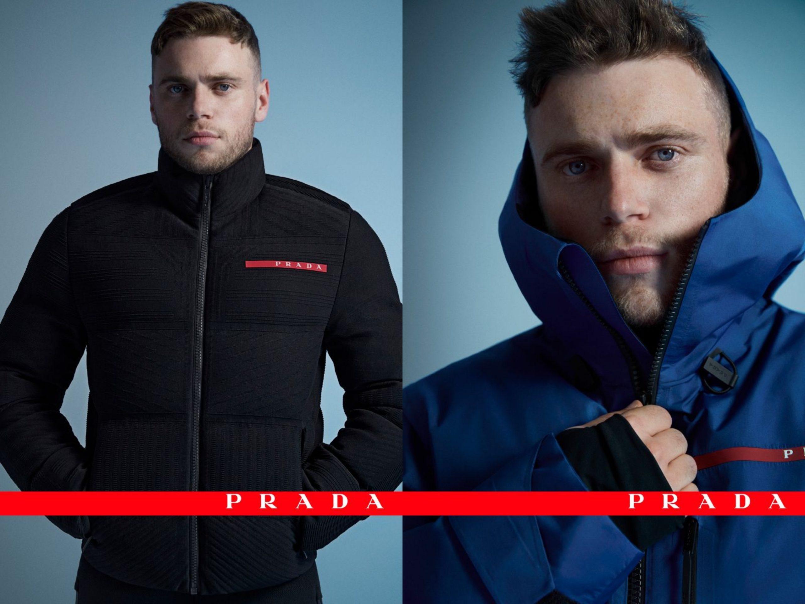 Gus Kenworthy Joins Prada's Linea Rossa Campaign