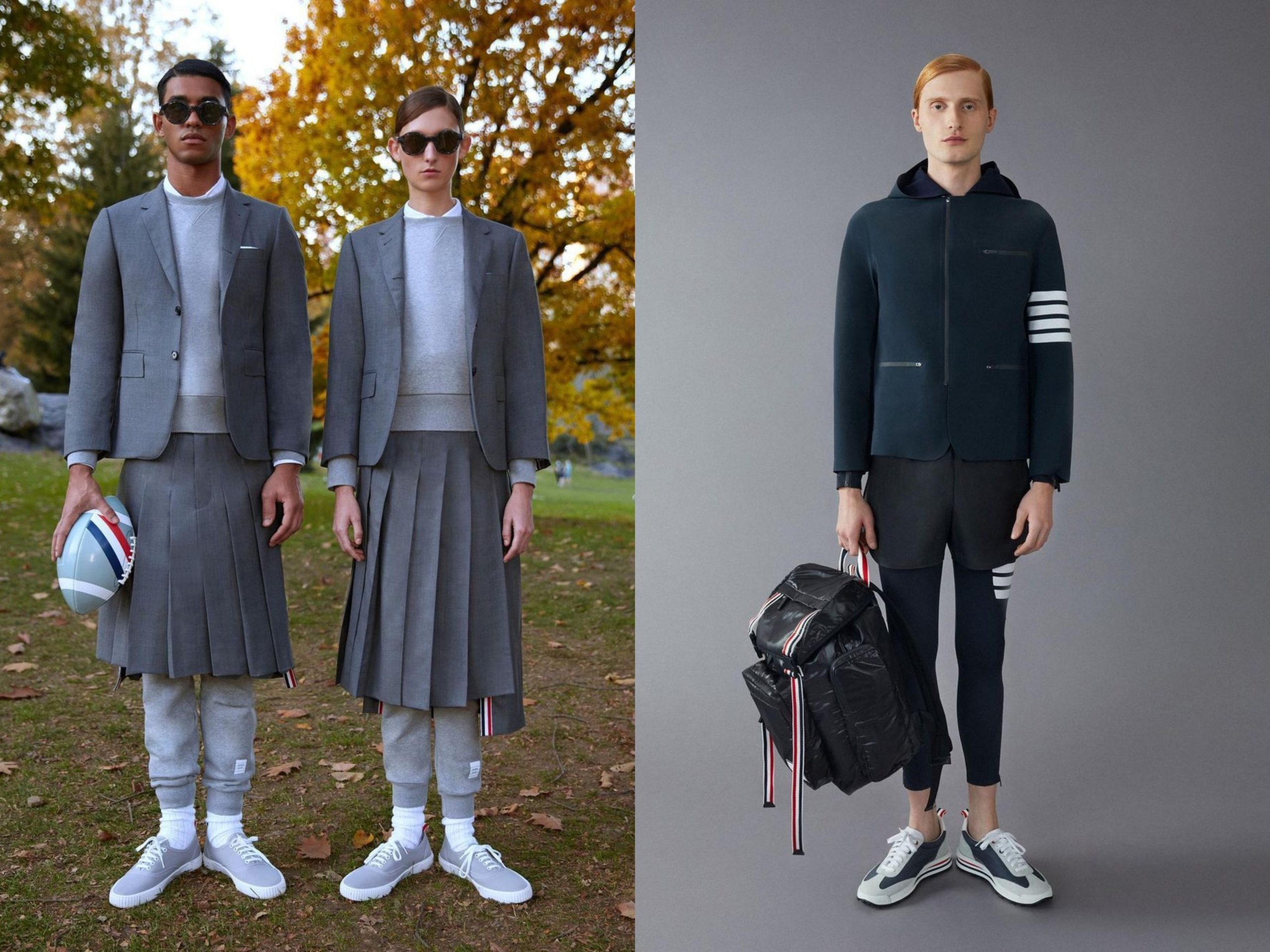 Thom Browne Previews Sportswear Collection