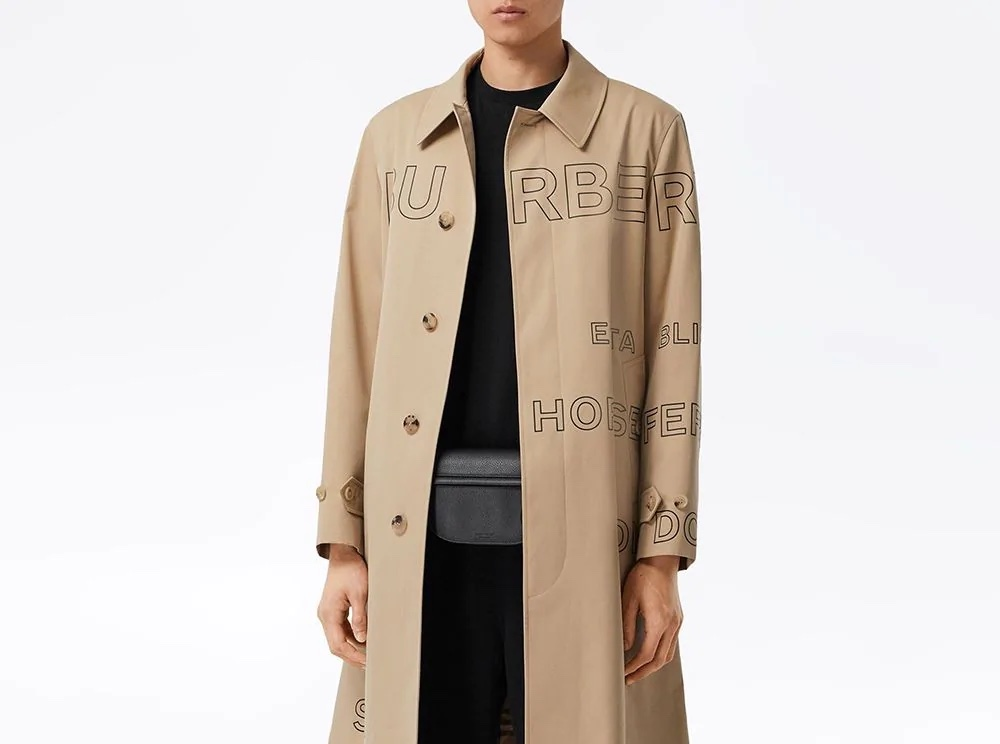 PAUSE or Skip: Burberry Horseferry Print Coat