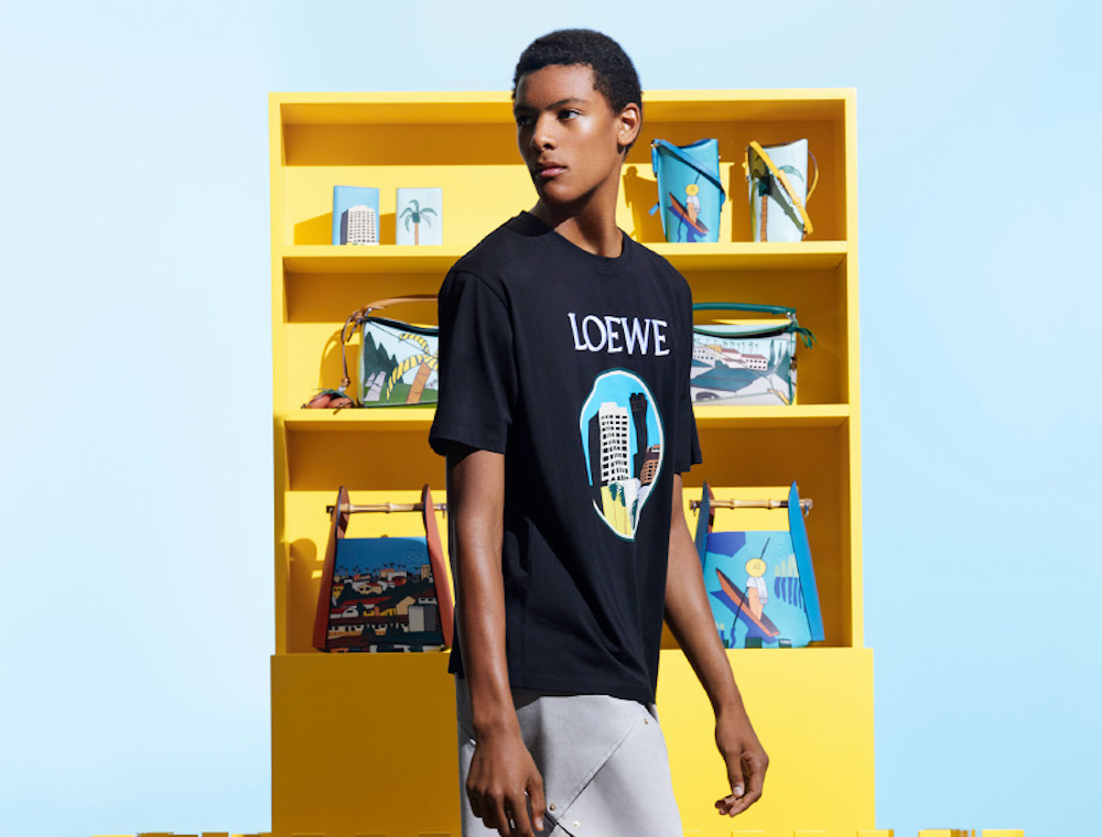 Loewe Debut Partnered Collection with American Artist Ken Price