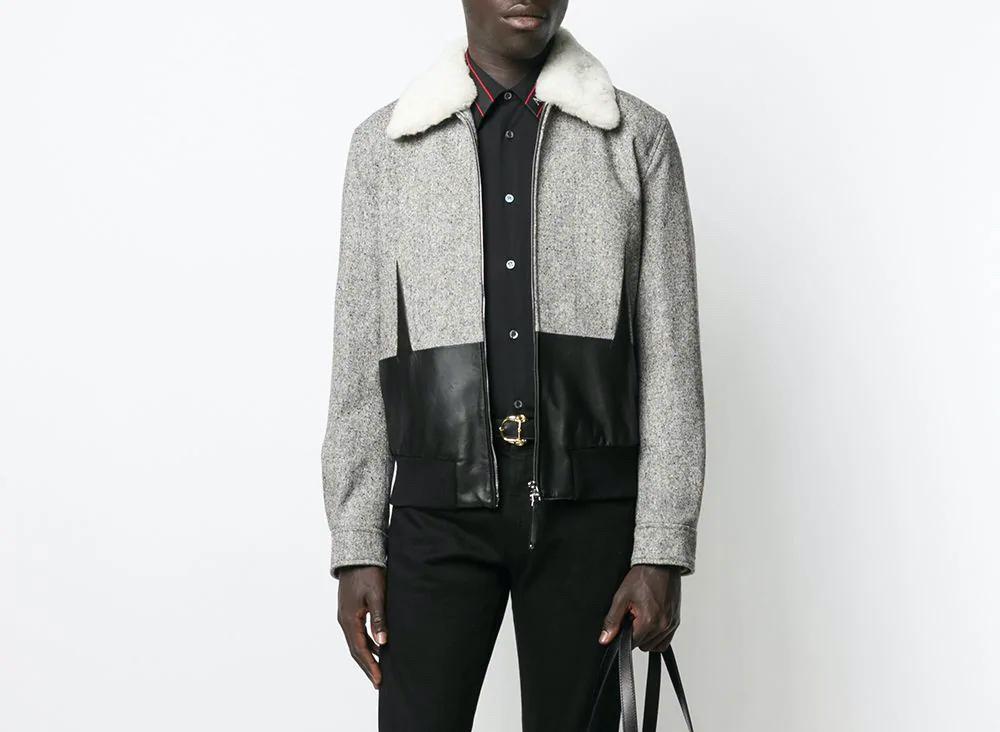 PAUSE or Skip: Alexander McQueen Fur Collar Bomber