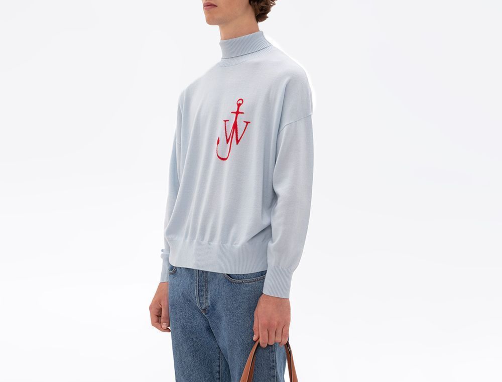 PAUSE or Skip: JW Anderson Anchor Motif Turtleneck