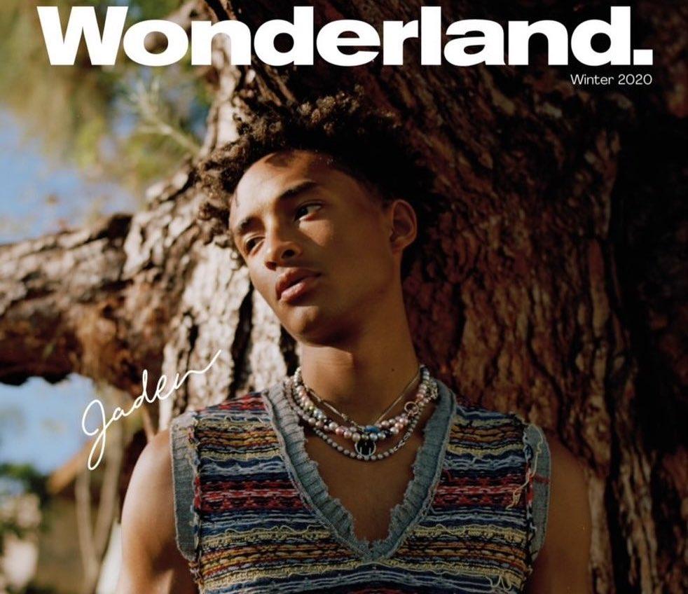SPOTTED: Jaden Smith Covers Wonderland in Maison Margiela
