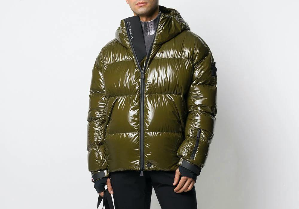 PAUSE or Skip: Moncler Grenoble Green Padded Jacket