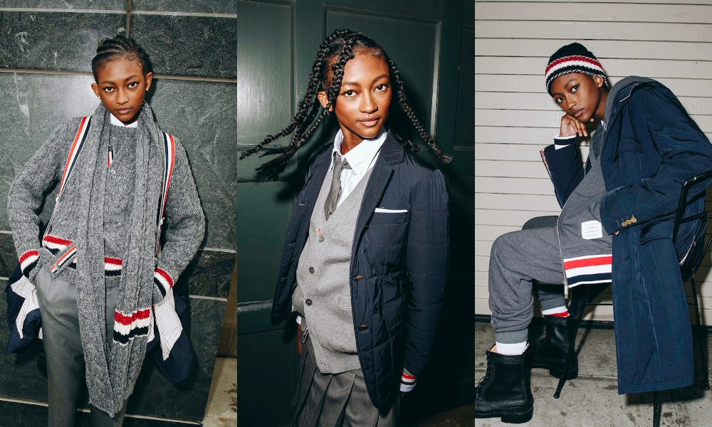 Thom Browne and SSENSE Present Unisex 'Friday Uniform' Capsule