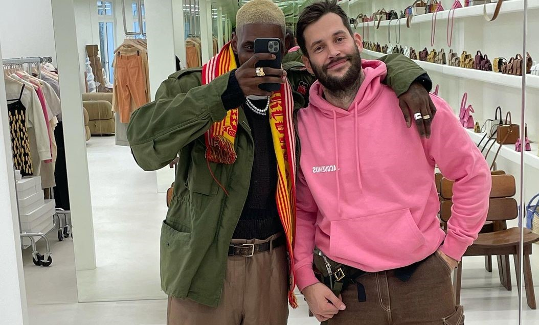 SPOTTED: Asap Nast and Simon Jacquemus Hang Out in Paris