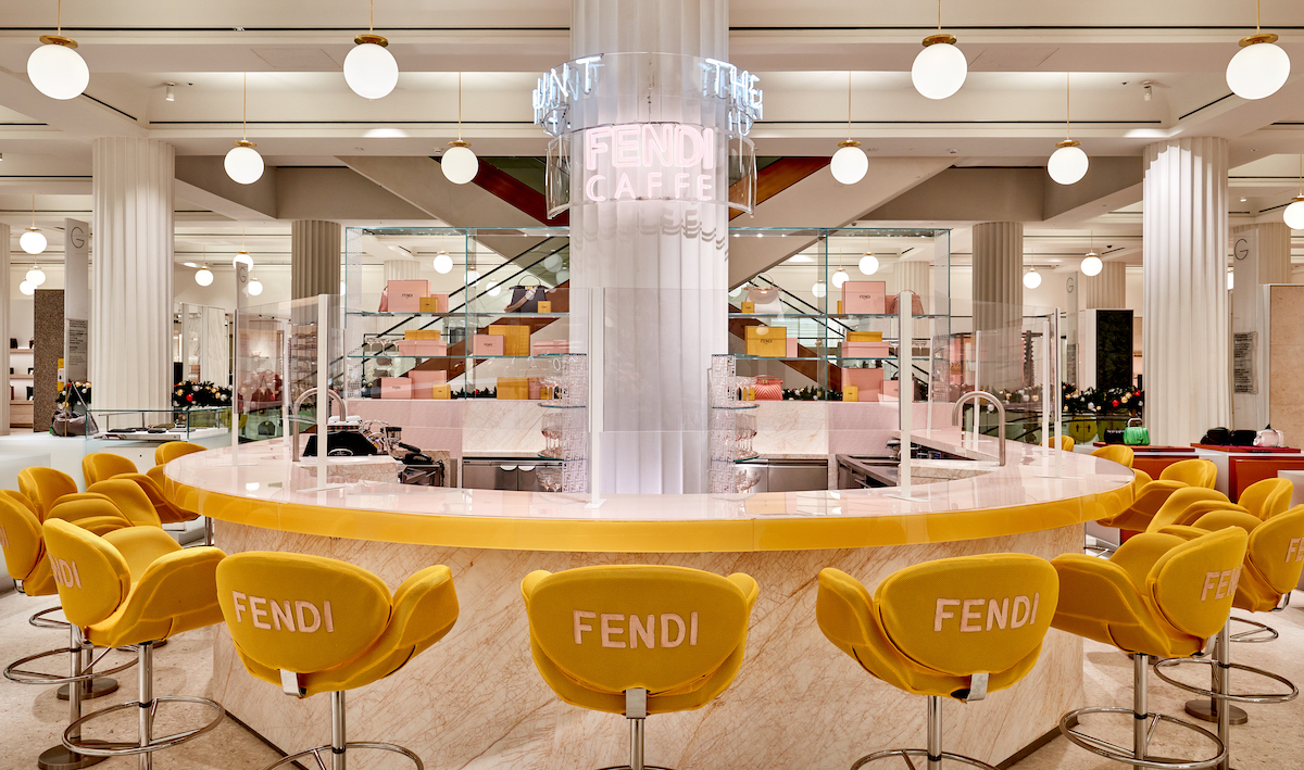 Fendi Announce Opening of FENDI CAFFE in Collaboration with Selfridges