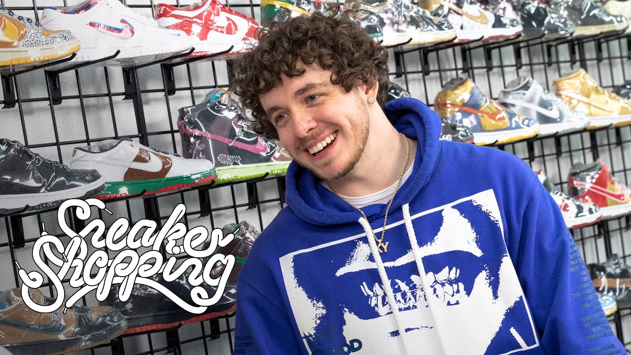 Jack Harlow Joins Complex for Sneaker Shopping
