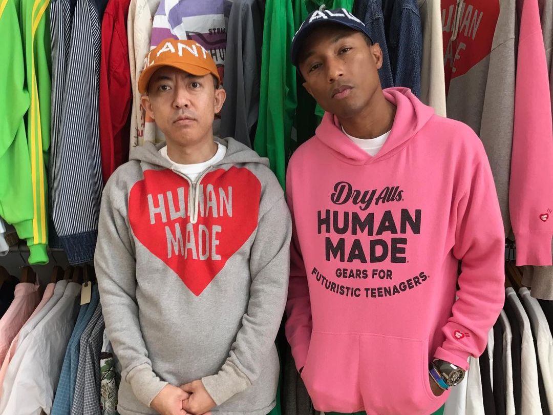 SPOTTED: Pharrell Williams & NIGO in Human Made & adidas