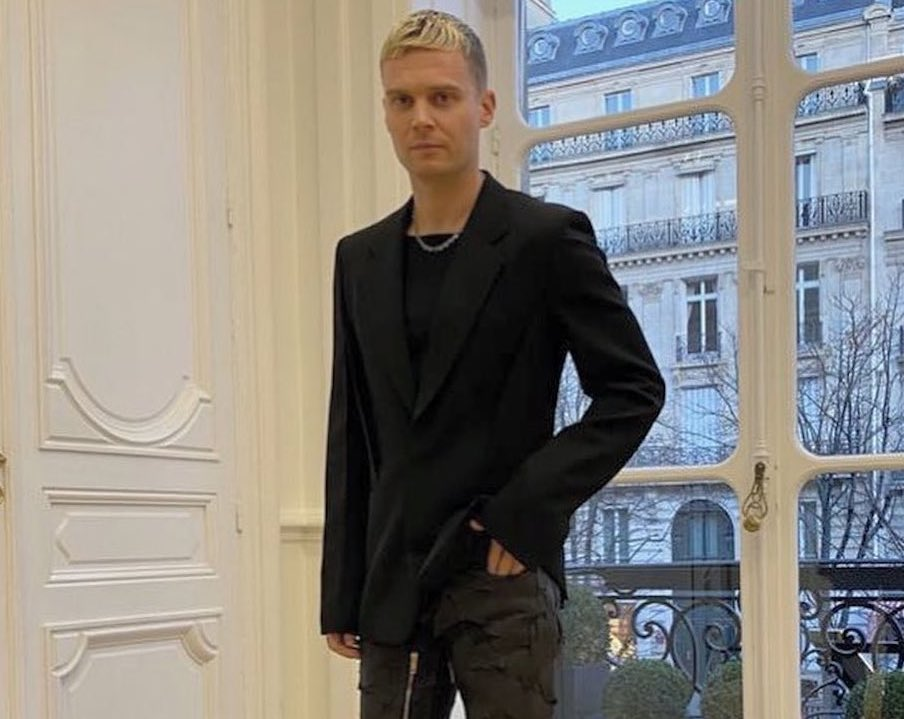 SPOTTED: Matthew M Williams Gushes About Givenchy Role in Tailored Getup