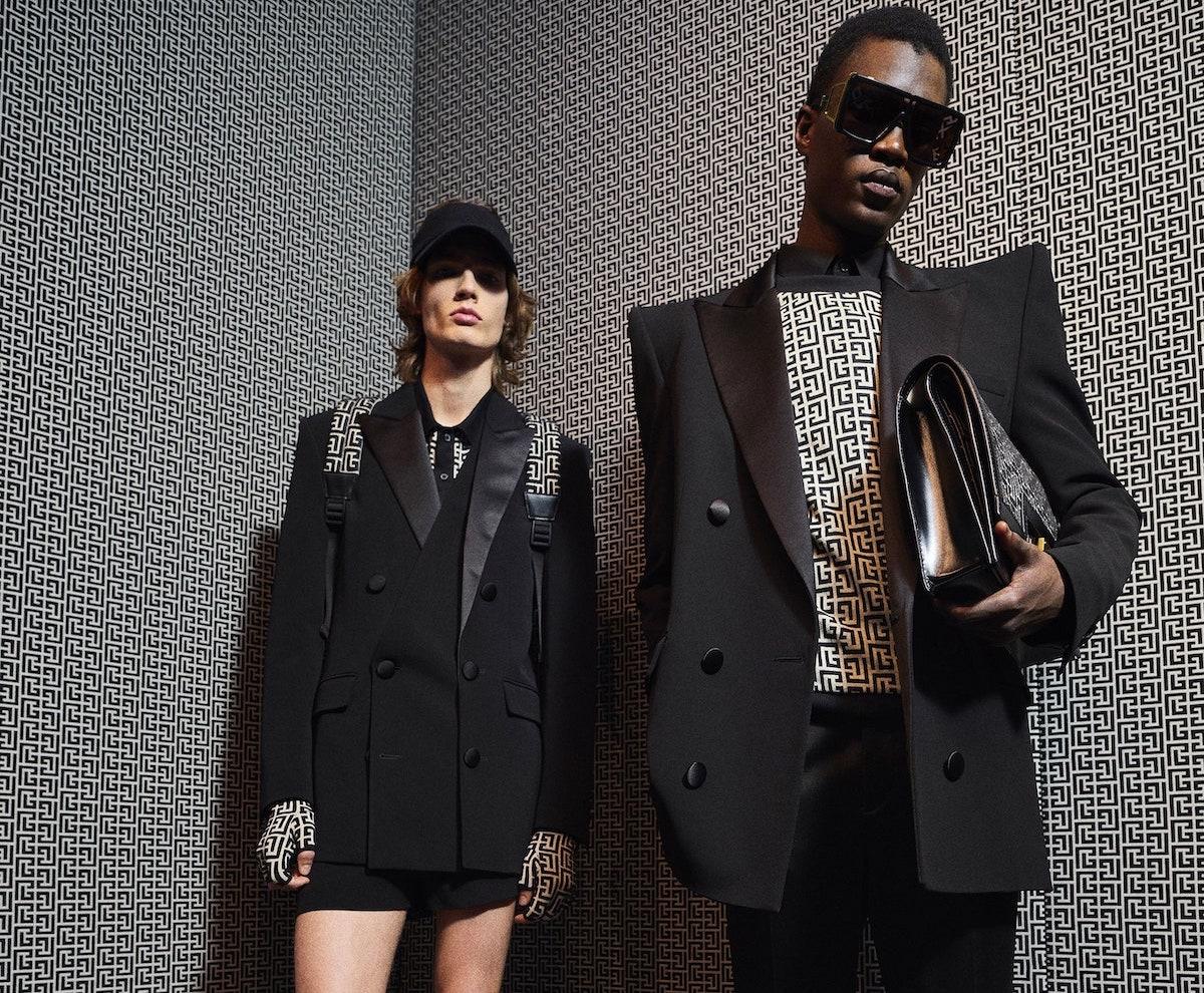 Balmain Menswear Pre-Fall 2021 Collection