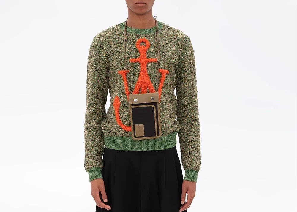 PAUSE or Skip: JW Anderson Intarsia Anchor Knit
