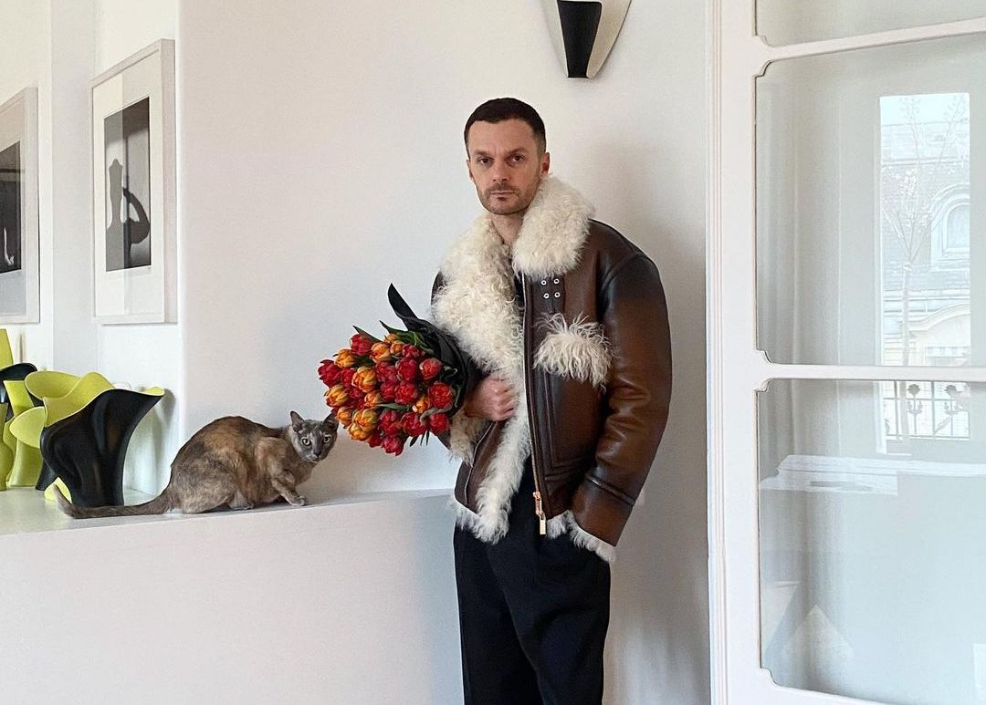 "SPOTTED: Kris Van Assche Shares ""Family Portrait"" in Berluti Shearling"