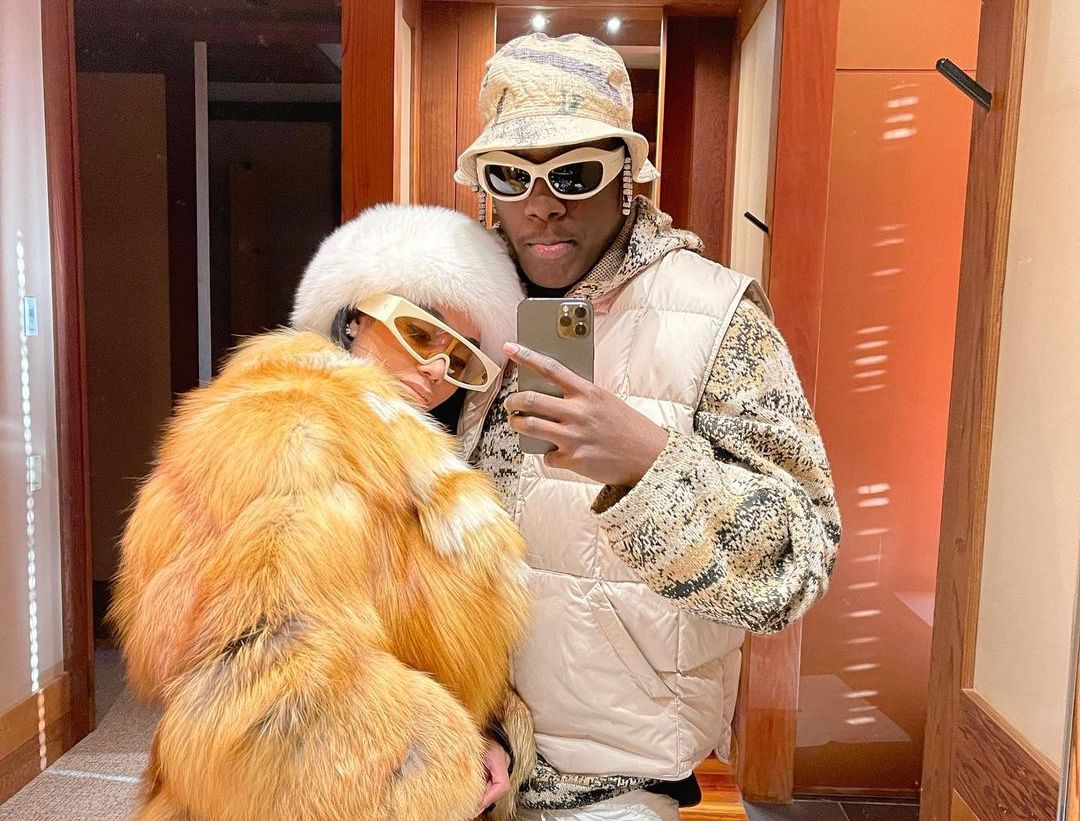 SPOTTED: Lil Yachty & Selangie Winter in AMANGANI, Wyoming