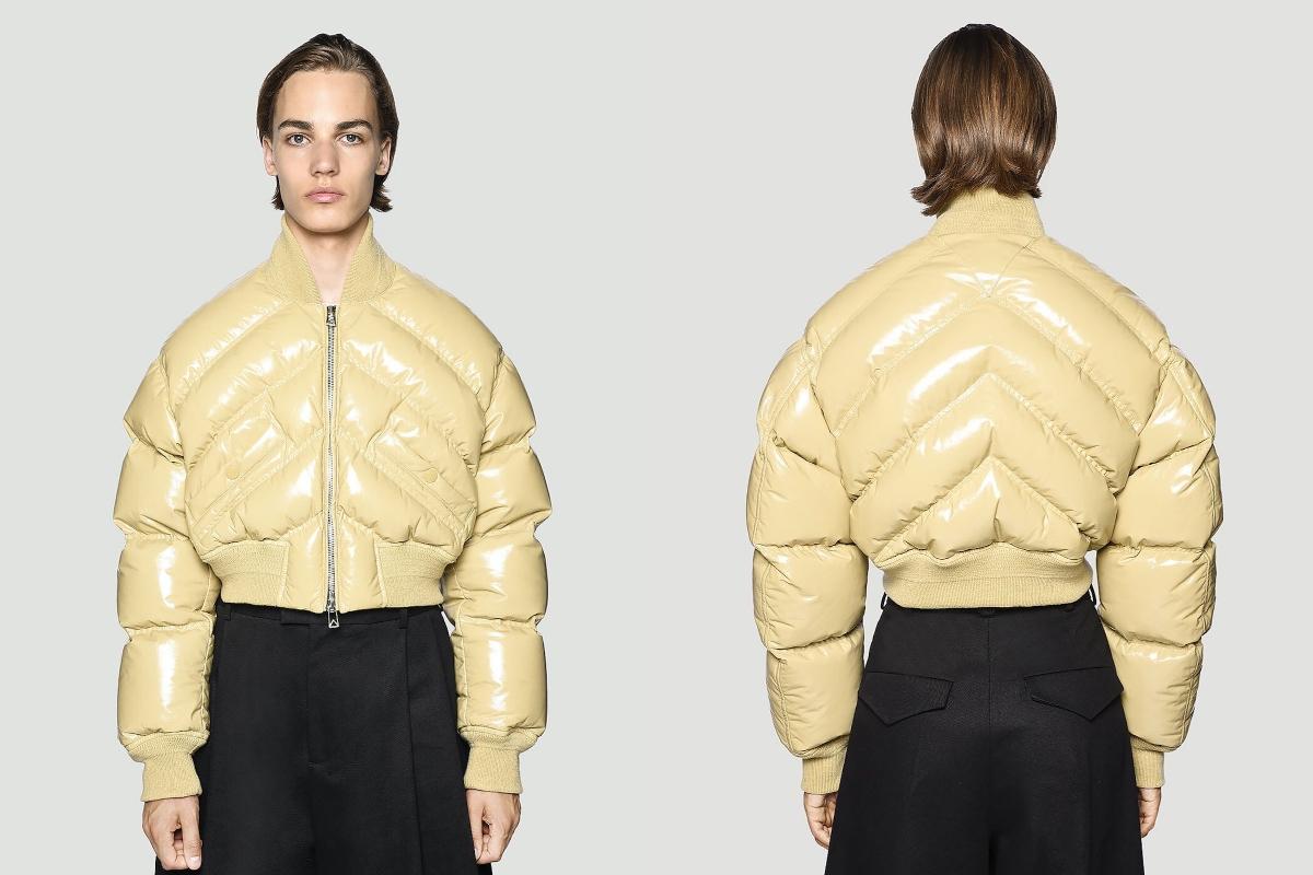 PAUSE or Skip: Bottega Veneta Leather Padded Jacket