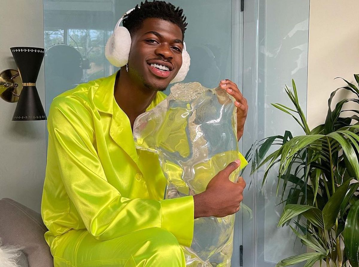 SPOTTED: Lil Nas X Announces Beat by Dre. Competition in Cobalt Yellow