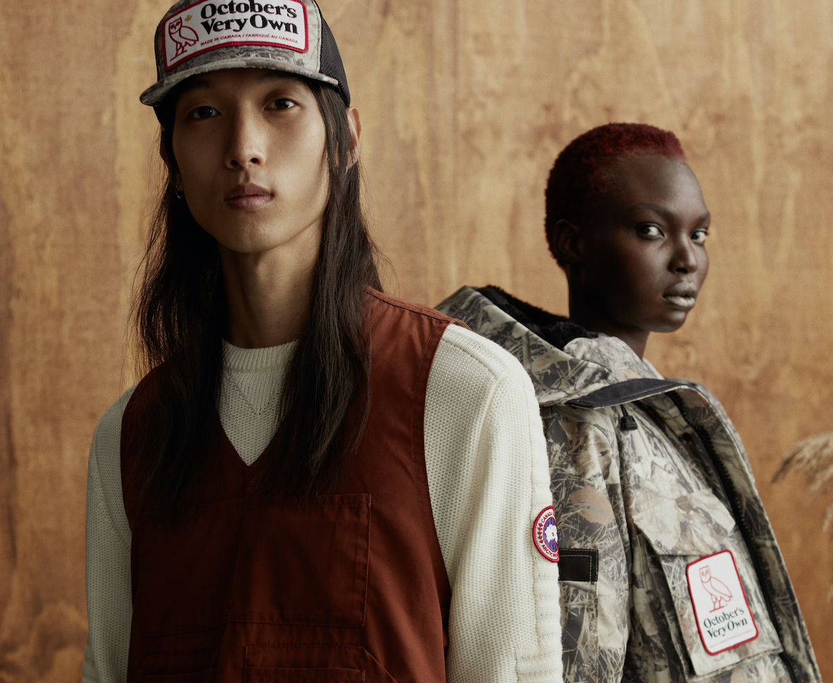 """Canada Goose & OVO Mark 10th Anniversary with """"All Terrain"""" Collection"""