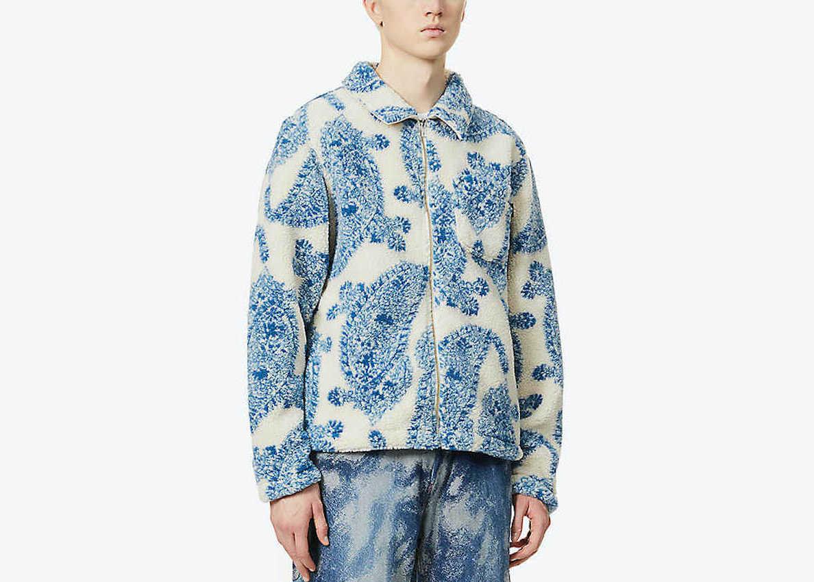 PAUSE or Skip: STÜSSY Paisley-Pattern Fleece Jacket
