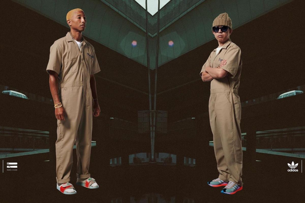adidas Unveils The Pharrell Williams x Nigo Friendship Pack