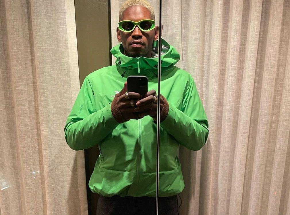 SPOTTED: ASAP Nast Stays Warm in Neon Green Arc'teryx