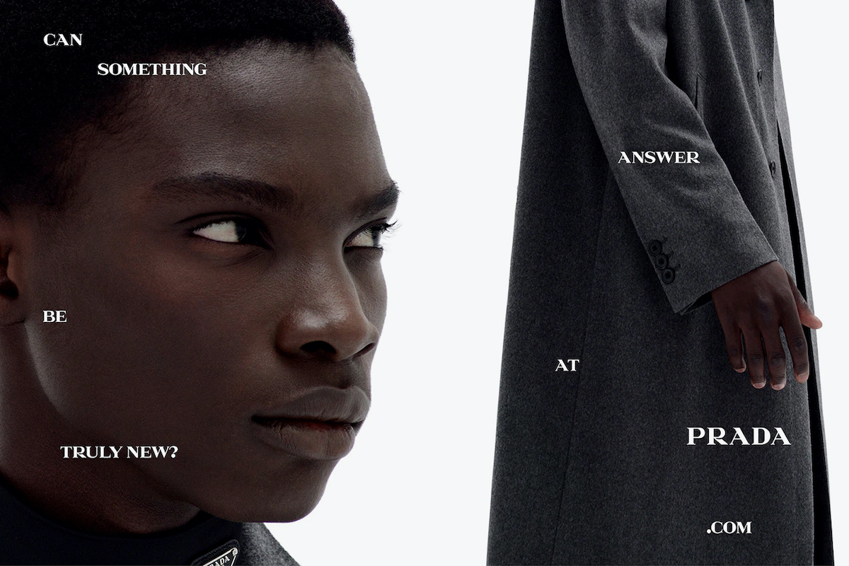 Prada's Spring/Summer 2021 Campaign Wants Your Opinion