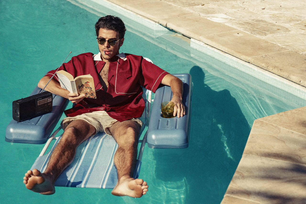 Drôle de Monsieur Take us to French Riviera for SS21′
