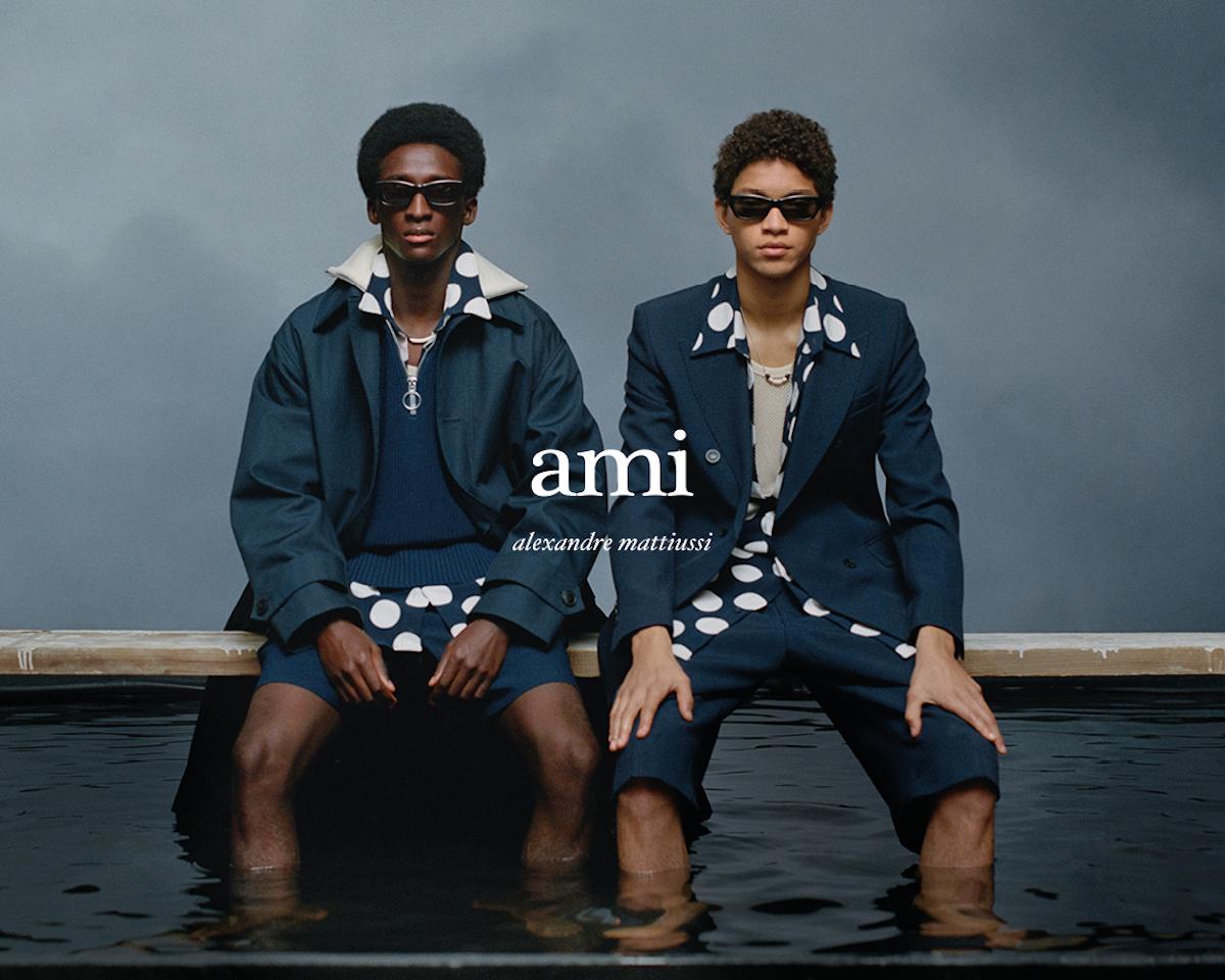 Paris label AMI Debut Their Spring/Summer 2021 Campaign