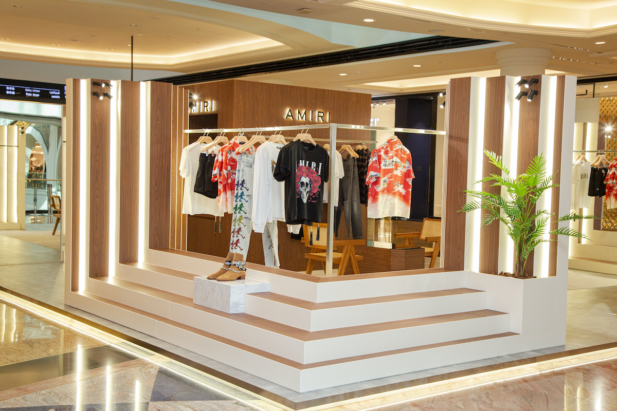 AMIRI Launch Pop-Up Store in Mall of The Emirates, Dubai