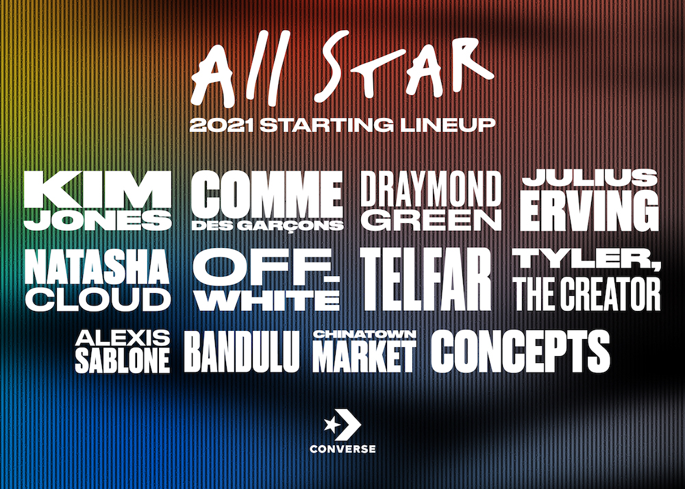 Converse Unveil All Star Line-Up of Collaborators for 2021
