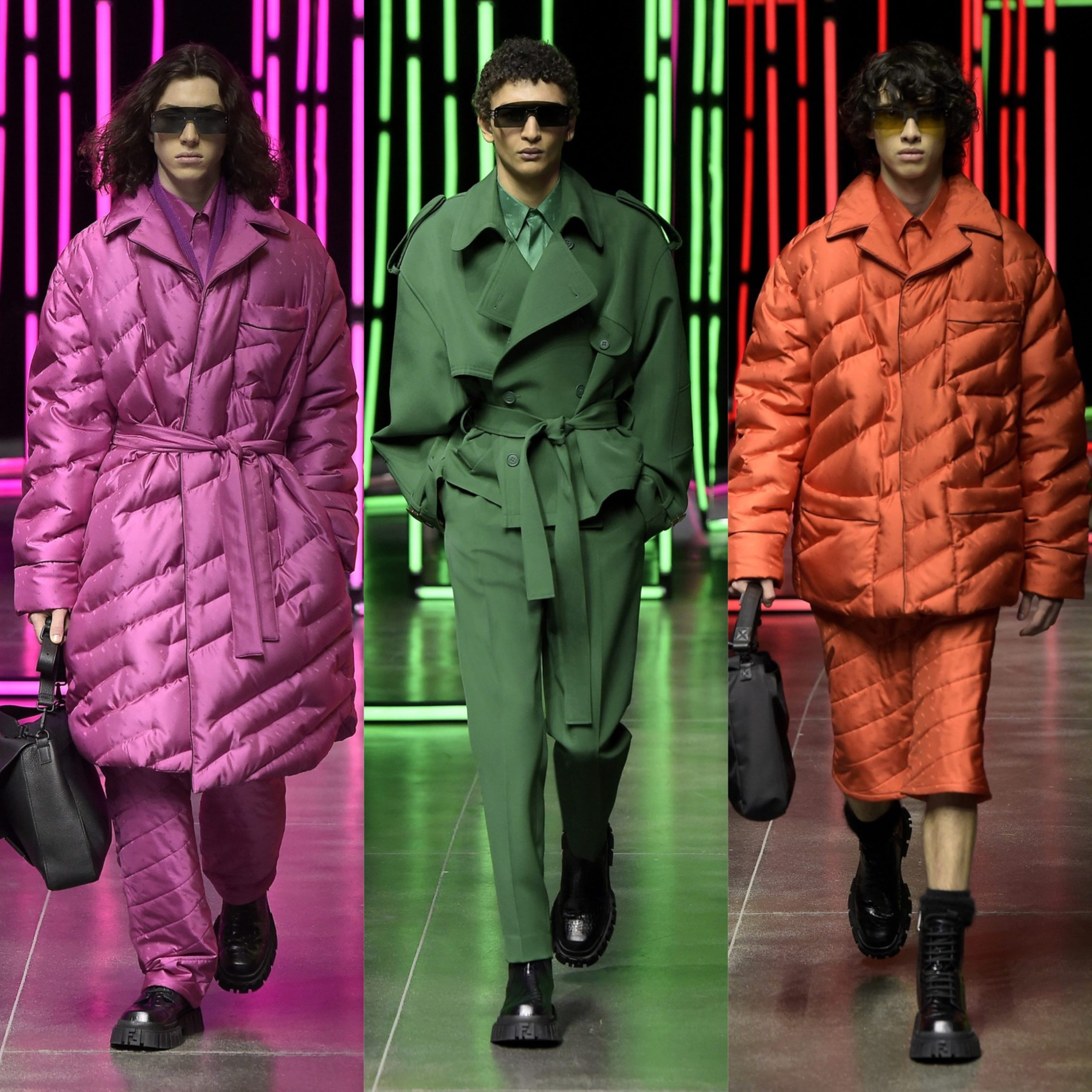 MFW: Fendi Menswear Fall/Winter 2021 Collection